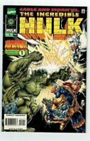 THE INCREDIBLE HULK #444 (Marvel) 1996 CABLE & STORM Vs. HULK!