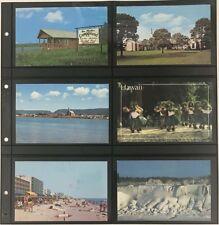 Lighthouse Maximum Wide Pages 6 Pockets Vintage Postcards Horizontal 5 Black Pgs