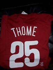Jim Thome Philadelphia Phillies T-Shirt  MLB shirt Philly baseball  NEW Small
