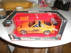 1/24 SCALE JADA FAST AND FURIOUS 1/24 Brian's Toyota Supra