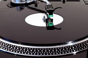 Audiophile Turntable Mat fits TECHNICS SL1200 SL1210 AUDIO TECHNICA LP120 LP1240
