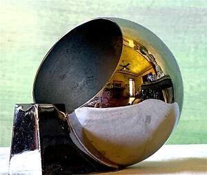 Manning Bowman Art Deco Chrome Ashtray