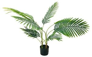 Artificial Palm Tree 120cm Realistic Fake Plant Potted Indoor Outdoor Decor