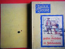 """Jules Verne """" Die grossen Seefahrer des 18. Jahrhunderts"""" Hartleben's 1881"""