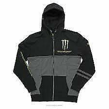 Pro Circuit Monster Energy Mens Casual Covert hoody Small black/grey CL002S