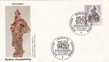 West Berlin 1967 Madonna Unadressed FDC