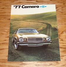 Original 1977 Chevrolet Camaro Sales Brochure 77 Chevy Rally Sport Type LT