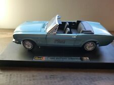 1/18 REVELL 30 YEARS 1965 FORD MUSTANG CONVERTIBLE BLUE