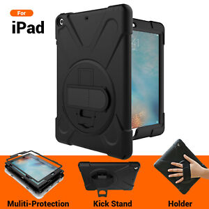 Heavy Duty Shock proof Case Cover For iPad 5 6 Pro 10.5 9.7 11 Air 2 Mini 4 3 2