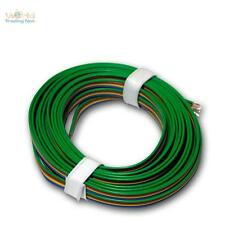 (1,20€/m) 5m Kupferlitze 4-adrig 0,14mm² Kabel RGB