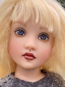 """RARE Hand Painted Helen Kish Shea BJD Artist Convention Doll Signed 14"""" PRISTINE"""