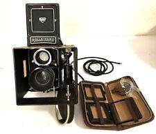 Rolleicord Vb Vintage TLR Camera Schneider Xenar 3.5/75mm Lens Extra Parts