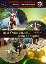 Systema Spetsnaz Russian Martial Arts DVD #13 Renewable Internal Energy Massage