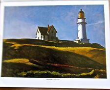 Edward Hopper Lighthouse Hill Poster  Offset Lithograph 14x11 Unsigned
