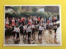 MORRIS MEN DANCING AT LOOSE PHOTO BY MARISON BOOKER POSTCARD