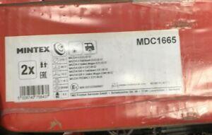 REAR BRAKE DISCS X2 280mm FITS MAZDA 626, MX-5, MAZDA 6 MINTEX MDC1665