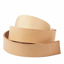 "WUTA Veg Tan Tooling Cowhide Leather Belt Blanks Belt Strap 45""-50"""