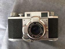 Vintage Riken Ricoh 35 Rangefinder Camera & Origina Ricomat Lens
