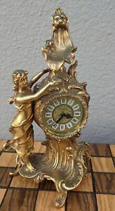 Antique Bronze Mercedes ClockVery beautiful and Rare Mercedes Tabletop Clock