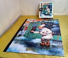 "THE NEW YORKER ' JUST A PINCH"" 1000 PIECES PUZZLE NYCP PERFECT CONDITION"