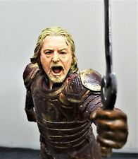 LOTR SIDESHOW WETA KING THEODEN 1/6 SCALE POLYSTONE FIGURE STATUE DIORAMA BUST