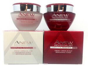 Avon Anew Reversalist Day + Night Cream COMPLETE RENEWAL 35+ 50ml SET!!!