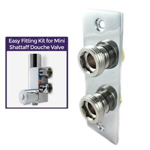 Easy Fixing Plate Bracket for Mini Douche Shattaf Thermostatic Shower Valve