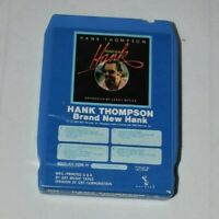 Hank Thompson, Brand New Hank, ABC Records, GRT, 8020-AY 1095 H, 8 Track