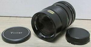 Vivitar 135mm f/2.8 Fit Auto Telephoto Camera Lens 286664701 55mm Canon FD Mount