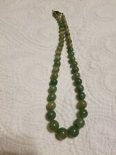 Vintage Chinese Jade Necklace Noc