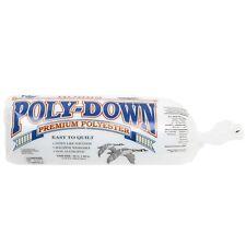 "Hobbs Polydown Quilt Batting/Wadding  Polyester CRIB Size (45"" x 60"")"