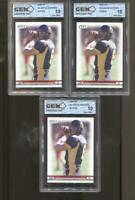 3 CT 2005 Aaron Rodgers Hit #8 Gem Mint 10 RC Rookie Green Bay Packers
