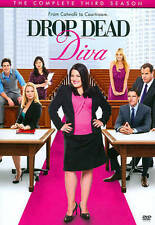 Drop Dead Diva: Third Season (DVD, 2012, 3-Disc Set)