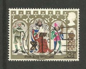 GREAT BRITAIN - Good King Wenceslas 3 1/2 p - CDS Statford Used