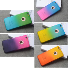 New 360° Multi-Color Hard PC thin Case Cover For iPhone 5 6 X 6S 7 8 Plus