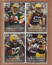 2015 Green Bay Packers Police TEAM SET - Aaron Rodgers Matthews Lacy Cobb Jordy