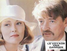 FAYE DUNAWAY OSKAR WERNER VOYAGE OF THE DAMNED 1976 LOBBY CARD ORIGINAL #3