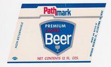 Pathmark Premium Lager Beer Label
