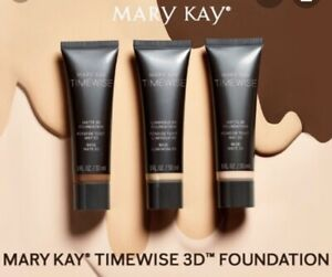 Mary Kay TimeWise  Matte-Wear  3D Liquid NEW Foundation. EXP 22/23