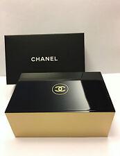 CHANEL Beauty Cosmetic Box Cotton Pad Box Jewelry Storage New with original box
