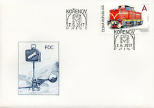 Czech Republic 2017 FDC Locomotive Rakusanka 1v S/A Cover Trains Railways Stamps