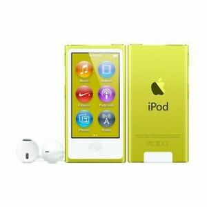 Apple MD476LL/A iPod nano 7th Generation 16GB Player - Yellow-Sealed Retail Box