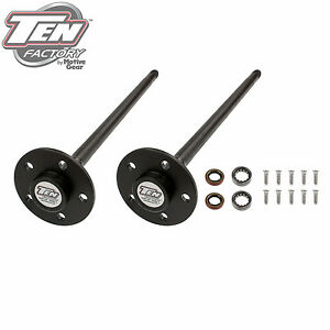 """Ten Factory MG22186 Ford 8.8"""" & 7.5"""" 1999-04 Mustang High Performance Axle Pkg"""