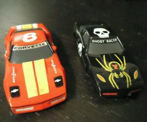 AFX Racing! [ The GHOST RACER & CORVETTE ] Bodys! #HTF! Brand NEW_Vintage Stock!