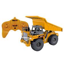 Radio Controlled Dump Truck Mining Dumper Truck Kids Construction Toy 1:18 Scale