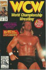 WCW  WORLD CHAMPIONSHIP WRESTLING  N° 1 - MARVEL 1992 ( COMIC USA )