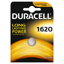 5x Duracell Electronics Knopfzelle 1620 CR1620 DL1620 5 x 1er Blister