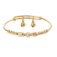 baby Child jewellry Girls boys Charm Bell Bangle Childrens Bracelet adjustable