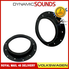 CT25VW05 165mm Front Door Speaker Adaptor Kit Rings For Volkswagen Golf 2003 On