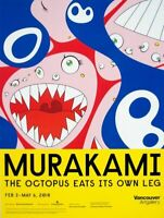 "NEW Takashi Murakami ""Klein's Pot"" Vancouver Art Gallery Exhibition Poster 2018"